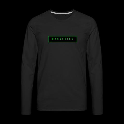 Maquekies Merch - Men's Premium Long Sleeve T-Shirt