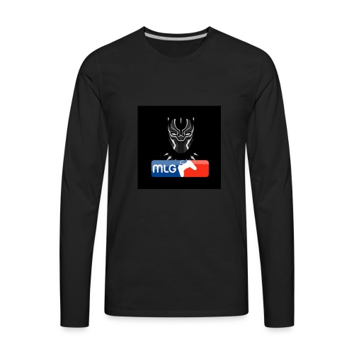 BlackPanther46MLG - Men's Premium Long Sleeve T-Shirt