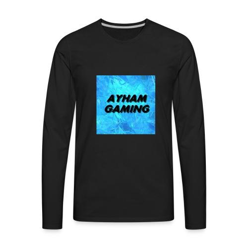 Ayham Gaming - Men's Premium Long Sleeve T-Shirt