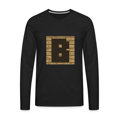 Brushykibbles - Men's Premium Long Sleeve T-Shirt