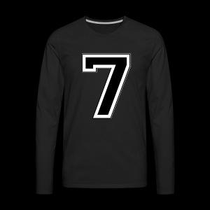 Started at 7 by Lil Kodak - Men's Premium Long Sleeve T-Shirt