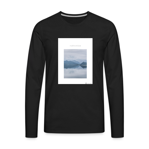 Reflection - Men's Premium Long Sleeve T-Shirt