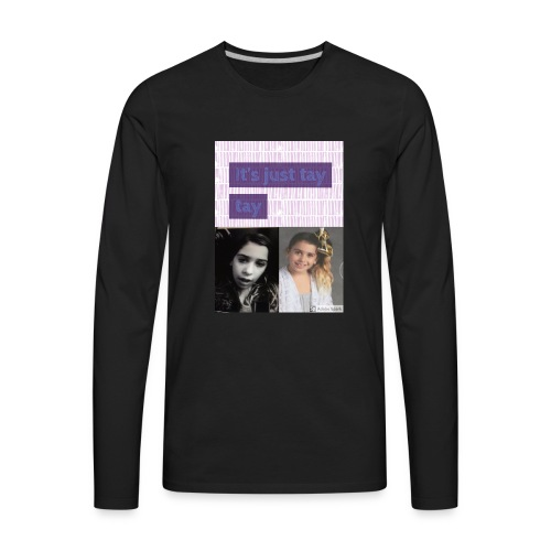 taylors favorite t-shirt - Men's Premium Long Sleeve T-Shirt