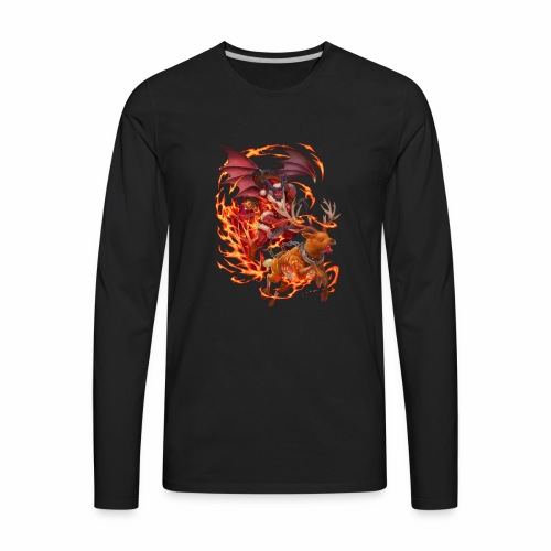 Chrismast Devil - Men's Premium Long Sleeve T-Shirt