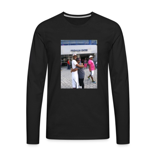 Me and my bro - Men's Premium Long Sleeve T-Shirt