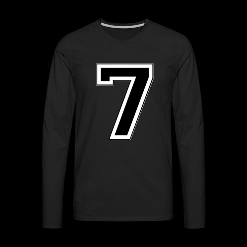 Started at 7 by Lil Kodak - Men's Premium Long Sleeve T-Shirt