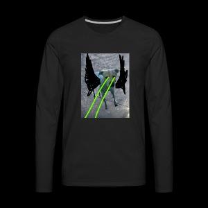 King Gatsby's Holiday retina lazers - Men's Premium Long Sleeve T-Shirt