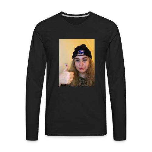 Alex crying - Men's Premium Long Sleeve T-Shirt