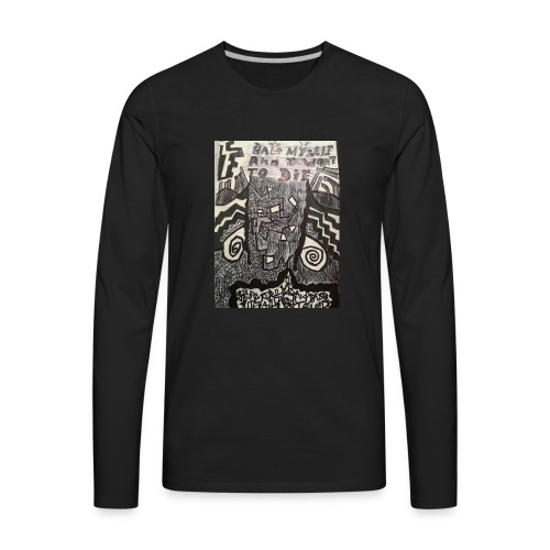 Of sorts in times of darthness - Men's Premium Long Sleeve T-Shirt