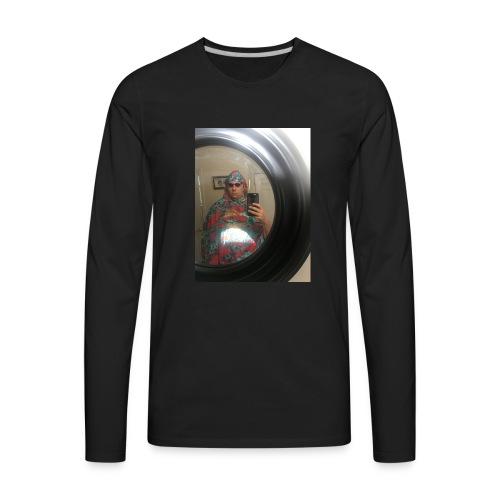 selfie - Men's Premium Long Sleeve T-Shirt