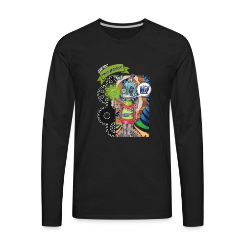 Meet Sam - Wazooz Style - Men's Premium Long Sleeve T-Shirt
