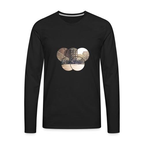 Basketball Backyard - Men's Premium Long Sleeve T-Shirt