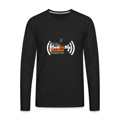 Paul in Rio Radio - Thumbs-up Corcovado #1 - Men's Premium Long Sleeve T-Shirt
