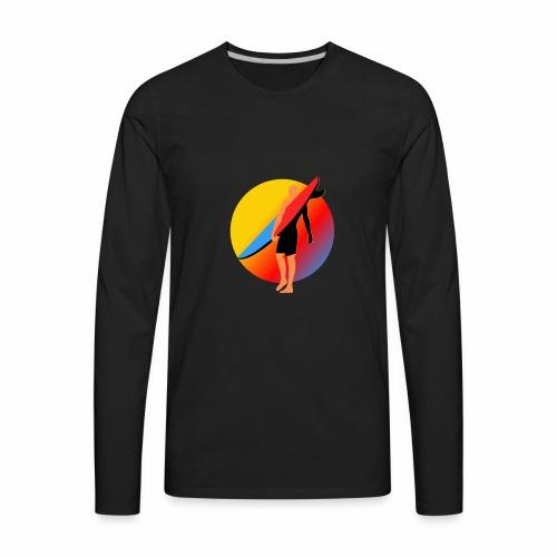 SURFER - Men's Premium Long Sleeve T-Shirt