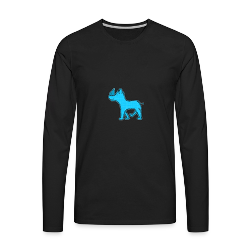 The Diamond Rhino - Men's Premium Long Sleeve T-Shirt