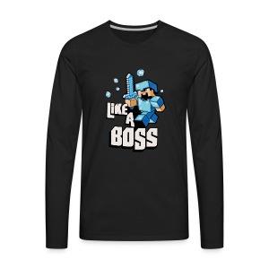 Steve Adventure - Men's Premium Long Sleeve T-Shirt