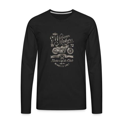 Vintage Motorcycle Club - Men's Premium Long Sleeve T-Shirt