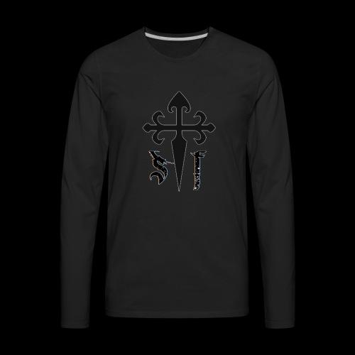 Simply Faith Logo - Men's Premium Long Sleeve T-Shirt