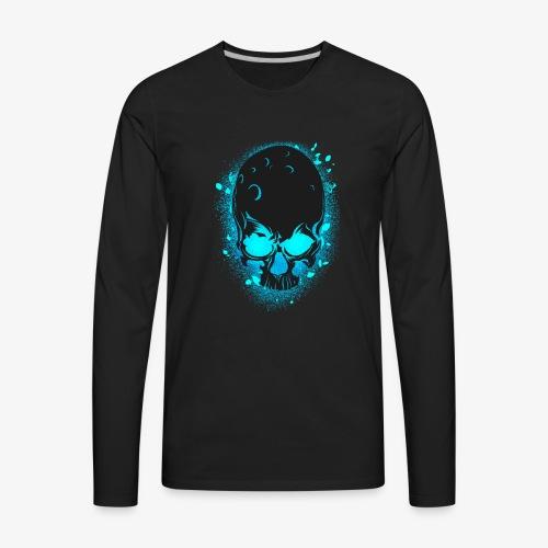 GLOW SKULL NEW - Men's Premium Long Sleeve T-Shirt