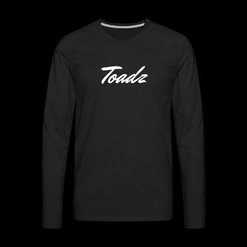 Toadz White 2 - Men's Premium Long Sleeve T-Shirt