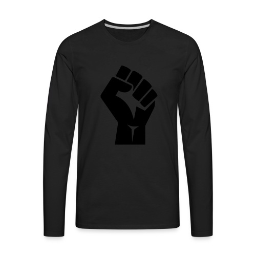 Fist Strong - Men's Premium Long Sleeve T-Shirt