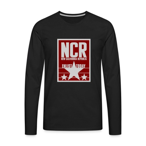 new california republic - Men's Premium Long Sleeve T-Shirt