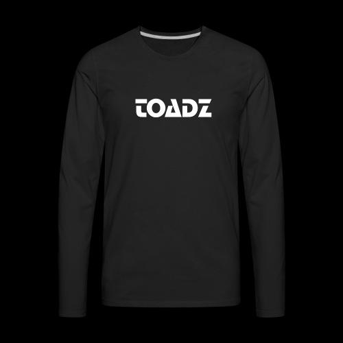 Toadz White - Men's Premium Long Sleeve T-Shirt