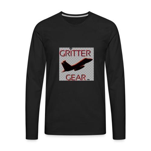 GRITTER GEAR - Men's Premium Long Sleeve T-Shirt