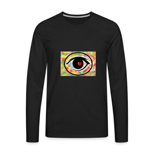 Eyelike - Men's Premium Long Sleeve T-Shirt