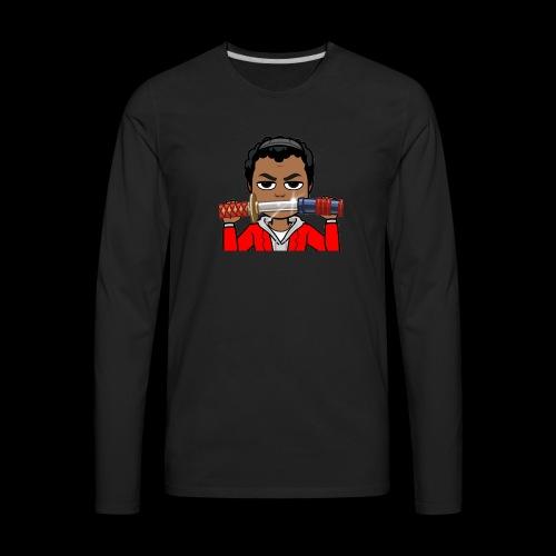 Cartoon Temmy - Men's Premium Long Sleeve T-Shirt