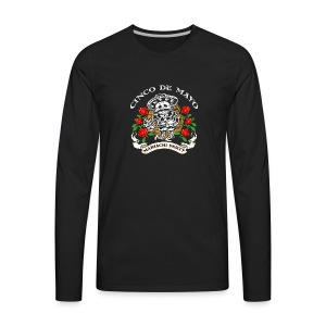 Cinco De Mayo Mariachi Party - Men's Premium Long Sleeve T-Shirt