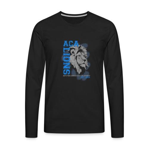 ACA_Lion_Prod_ss - Men's Premium Long Sleeve T-Shirt