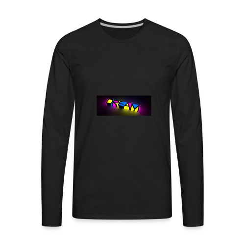 dream color neon - Men's Premium Long Sleeve T-Shirt