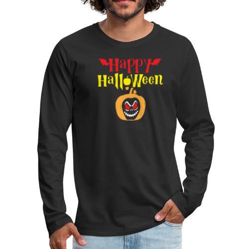 Funny Halloween Shirts - Men's Premium Long Sleeve T-Shirt