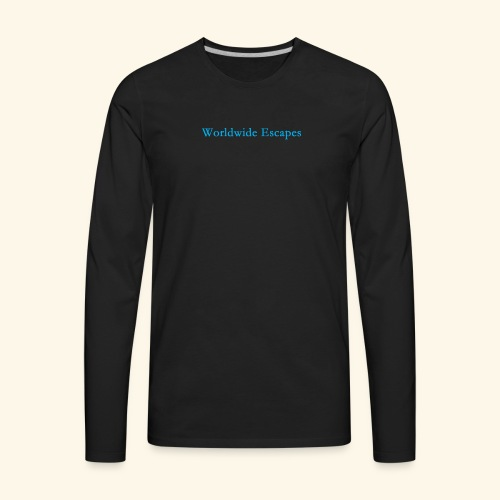 Worldwide Escapes - Men's Premium Long Sleeve T-Shirt