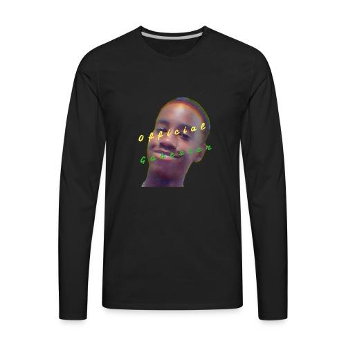 official Gabester 4 - Men's Premium Long Sleeve T-Shirt