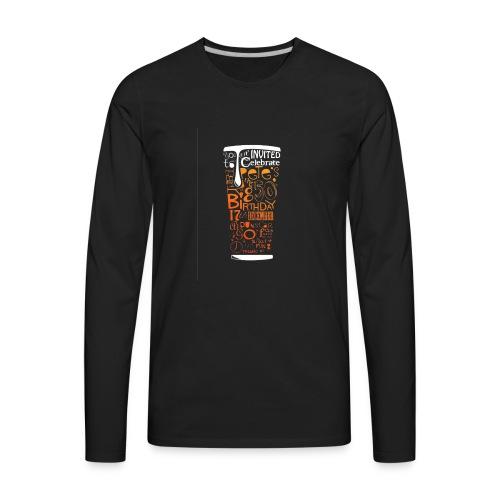 Beer Drunk - Men's Premium Long Sleeve T-Shirt