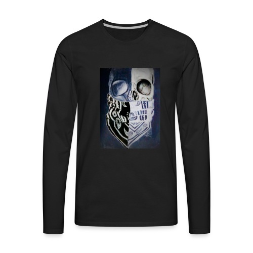 True thug for life - Men's Premium Long Sleeve T-Shirt