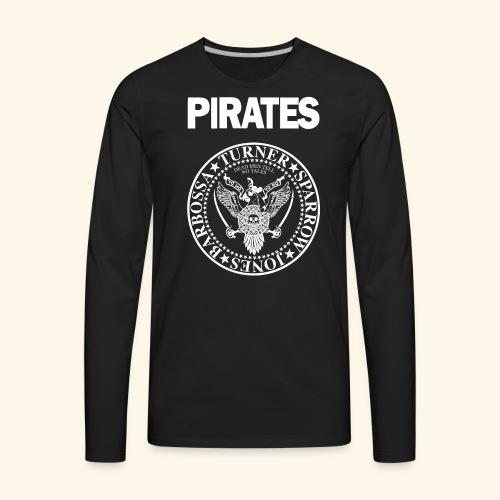 Punk Rock Pirates [heroes] - Men's Premium Long Sleeve T-Shirt