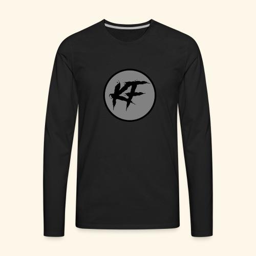 KF-Circle Logo - Men's Premium Long Sleeve T-Shirt