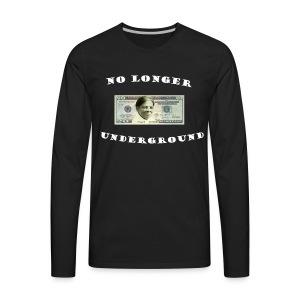No longer Underground - Men's Premium Long Sleeve T-Shirt