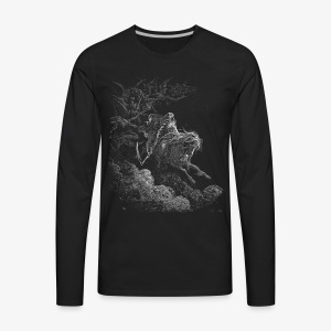 rider t - Men's Premium Long Sleeve T-Shirt