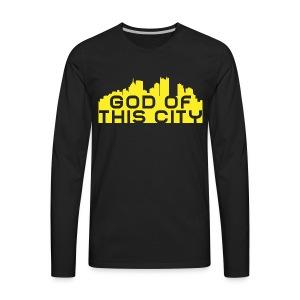 God Of This City - Men's Premium Long Sleeve T-Shirt