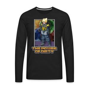 The power of diety - Men's Premium Long Sleeve T-Shirt