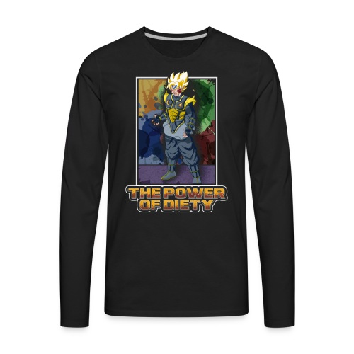 The power of diety - Men's Premium Long Sleeve T-Shirt