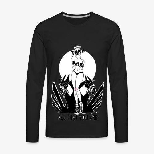 take me, all that you are - Men's Premium Long Sleeve T-Shirt