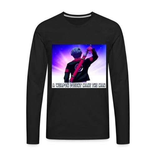 Dragon Ball Z Trunks T-Shirt - Men's Premium Long Sleeve T-Shirt