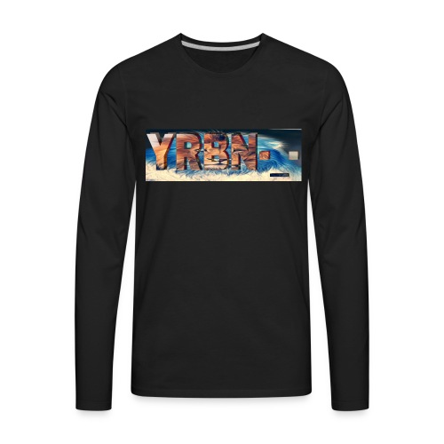 YRBN'S Merch - Men's Premium Long Sleeve T-Shirt