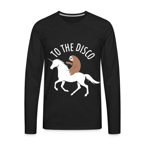 TO THE DISCO - Men's Premium Long Sleeve T-Shirt