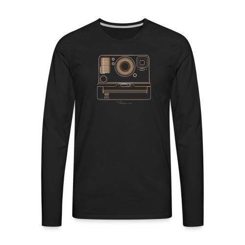 Camera Sketches - Polaroid OneStep2 - Men's Premium Long Sleeve T-Shirt